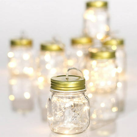 Mason Jar String Light Garland (Jaw String)