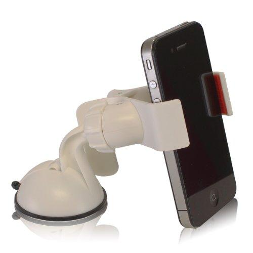 Furinno IP11-WH Easy Mount Suction Universal Car Phone Mount Holder, White - image 1 of 1