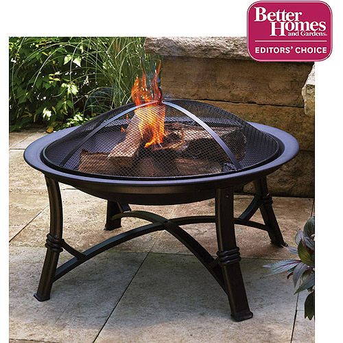 better homes and gardens fire pit
