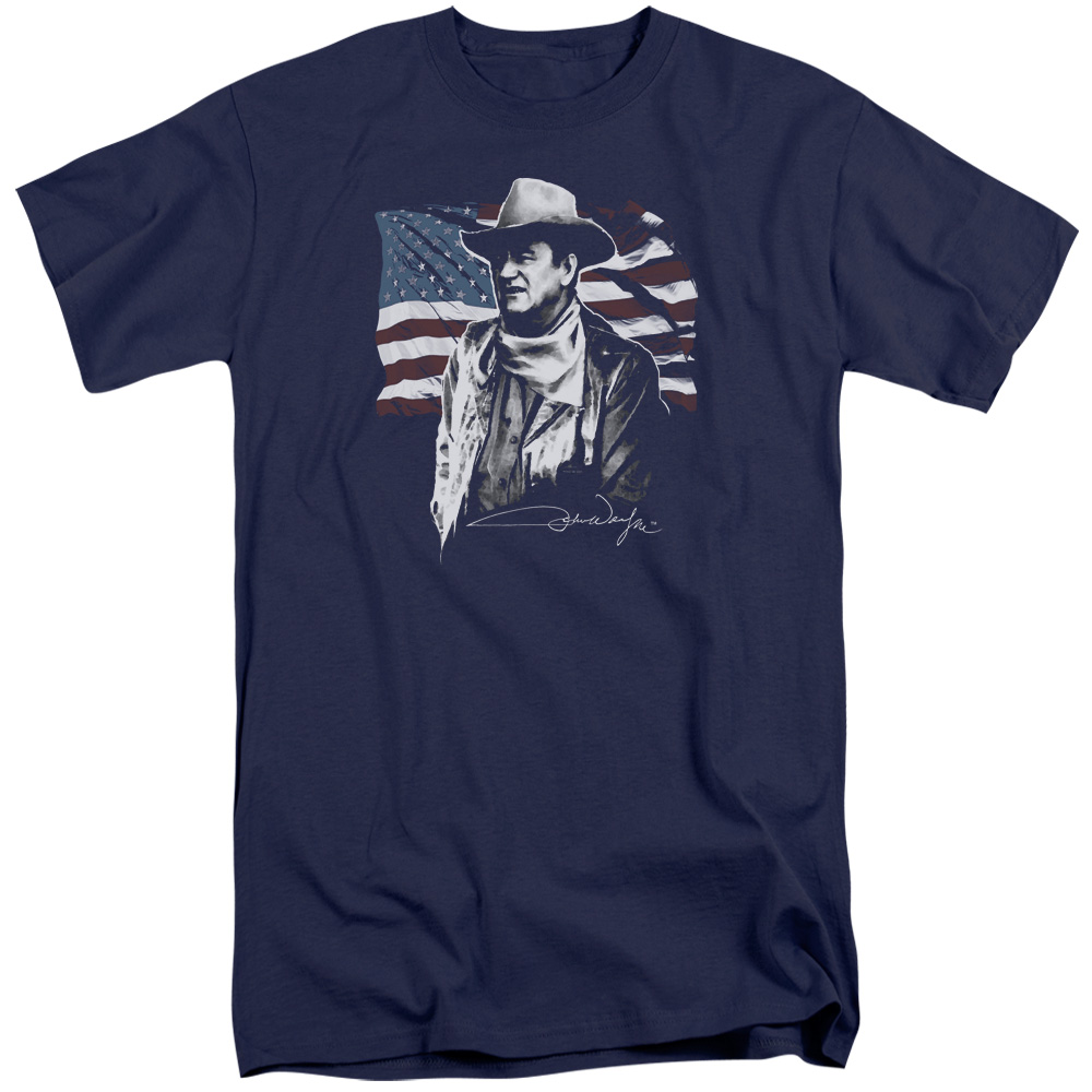 John Wayne American Idol Mens Big and Tall Shirt