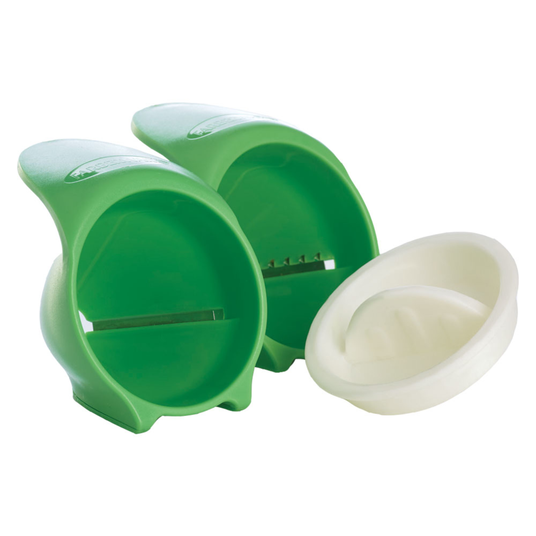 Farberware Professional Set of 2 Hand Held Green Spiralettis