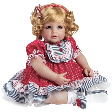 """Adora Toddler Dream Boat 20"""" Girl Weighted Doll Gift Set For Children 6+ Huggable Vinyl Cuddly Snuggle Soft Body Toy"""