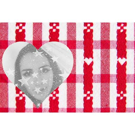 LAMINATED POSTER Transparent Star Veil Valentine Woman Heart Poster Print 24 x 36 (Valentine Crab)