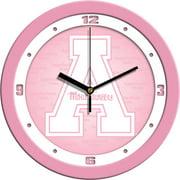 Appalachian State Pink Wall Clock