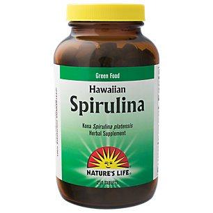 Natures Life - spiruline, tablette (BTL-plastique) 500mg 250ct