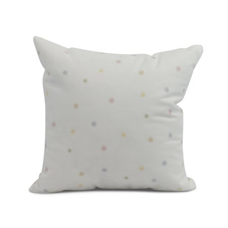 Simply Daisy 20 X Inch Veggie Dots Outdoor Pillow Pale Pink
