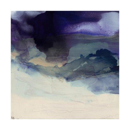 Purple Wunderlust I Print Wall Art By Sisa