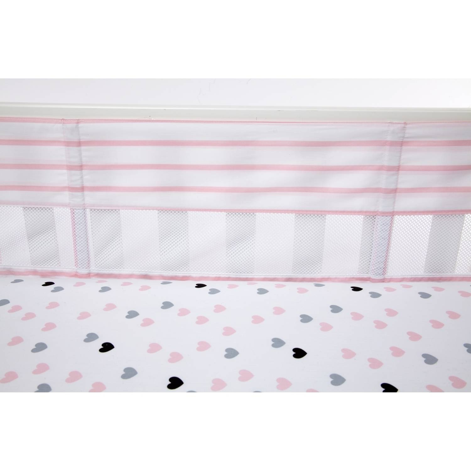 Little Love Hugs & Kisses Crib Liner