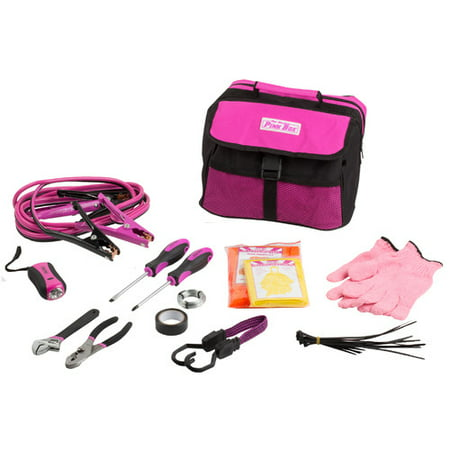 - The Original Pink Box PB1EKIT Emergency Roadside Assistance Kit for Vehicles