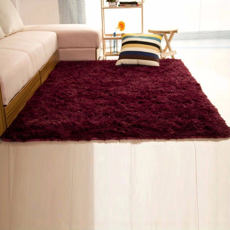 Nk home rugs 16x24 39 39 rectangle oblong shape bedroom fluffy - Small area rugs for living room ...