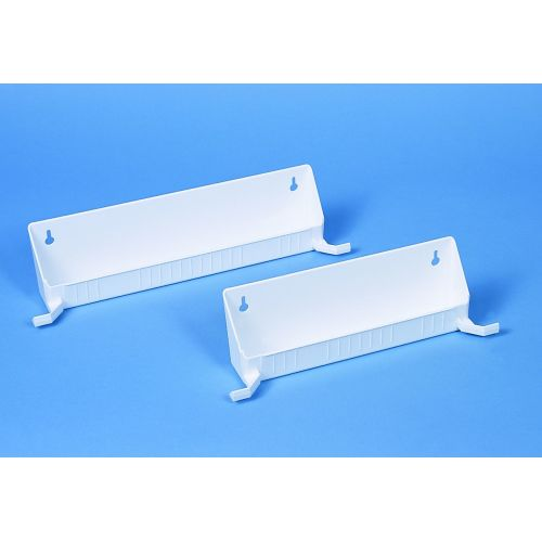 Rev-A-Shelf 6562-11-52 6561 Series 11 Inch Tab Stop Sink Front Trays (Set of 2)