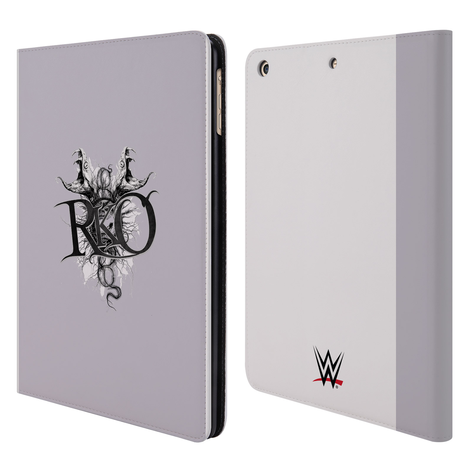 OFFICIAL WWE RANDY ORTON LEATHER BOOK WALLET CASE COVER FOR APPLE IPAD