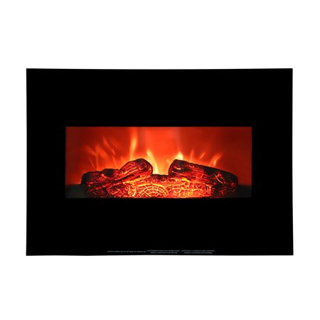 """Zimtown Electric Fireplace,Electric Fireplace Heater,1400W Flame Electric Fireplace with 26"""" Mantle"""