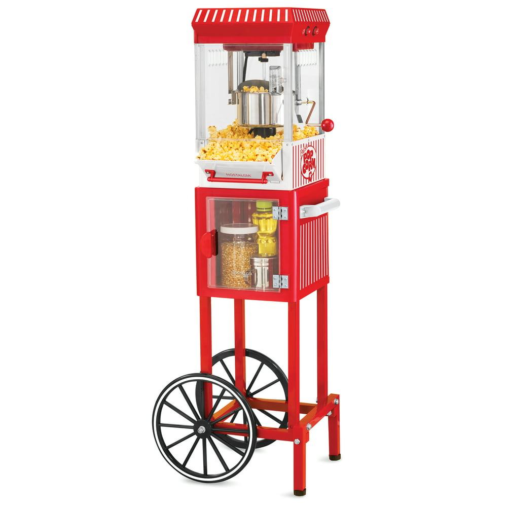 Nostalgia KPM200CART 2.5-Ounce Popcorn and Concession Cart