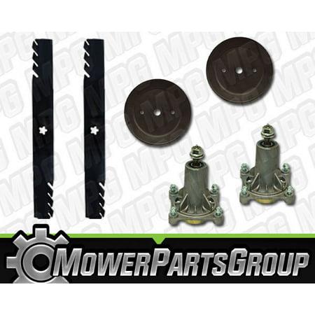 "D663 Ariens 46"" Deck Rebuild Kit Repl Spindles 21546238 Gator Blades 21546611"