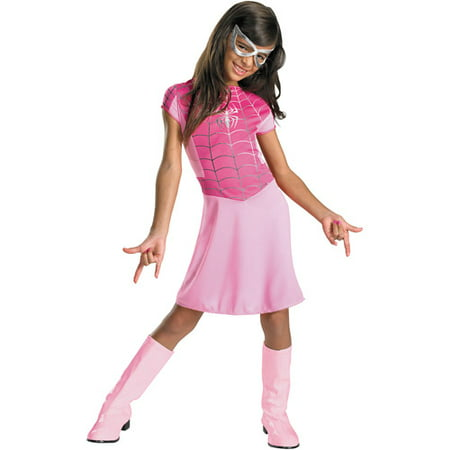 Spider-Girl Pink Child Halloween Costume