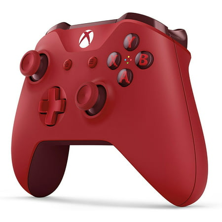 Microsoft Xbox One Wireless Controller, Red, WL3-00027