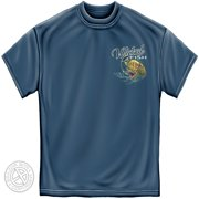 Cotton Wicked Fish Fighting Bucktail Fluke Lure T-Shirt