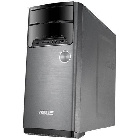 ASUS M32AD-US007T Desktop PC with Intel Core i5-4460 Processor, 8GB Memory, 1TB Hard Drive and Windows 10 (Monitor Not Included)
