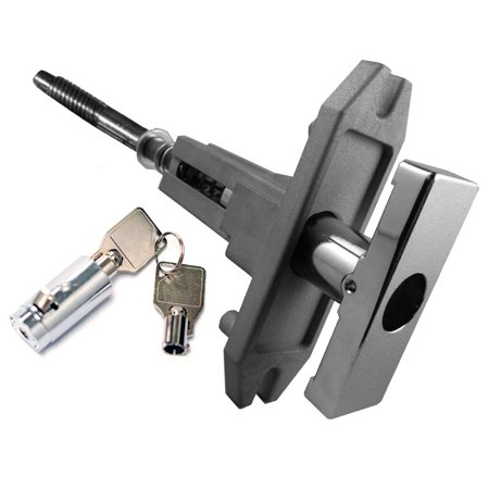 Loc Assembly - Dixie Narco T-Handle Assembly Fits 501E, 600E Mfg# 80150820031 with lock included - NEW PART