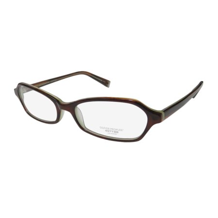 New Oliver Peoples Fabi-B Womens/Ladies Designer Full-Rim Havana Fabulous Authentic Hot Frame Demo Lenses 50-16-135 Eyeglasses/Eye (Havana Lens Brown Gradient Frame)