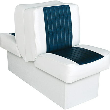 Wise (8WD707P-1-924) 8WD707P-1-924 Deluxe Series Lounge Seat, White-Navy