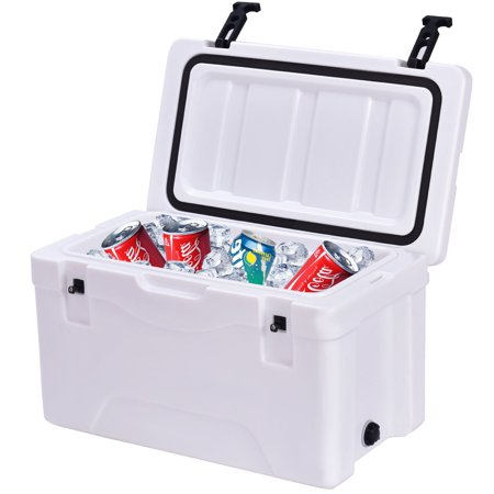 Costway outdoor insulated fishing hunting cooler ice chest for Walmart ice fishing