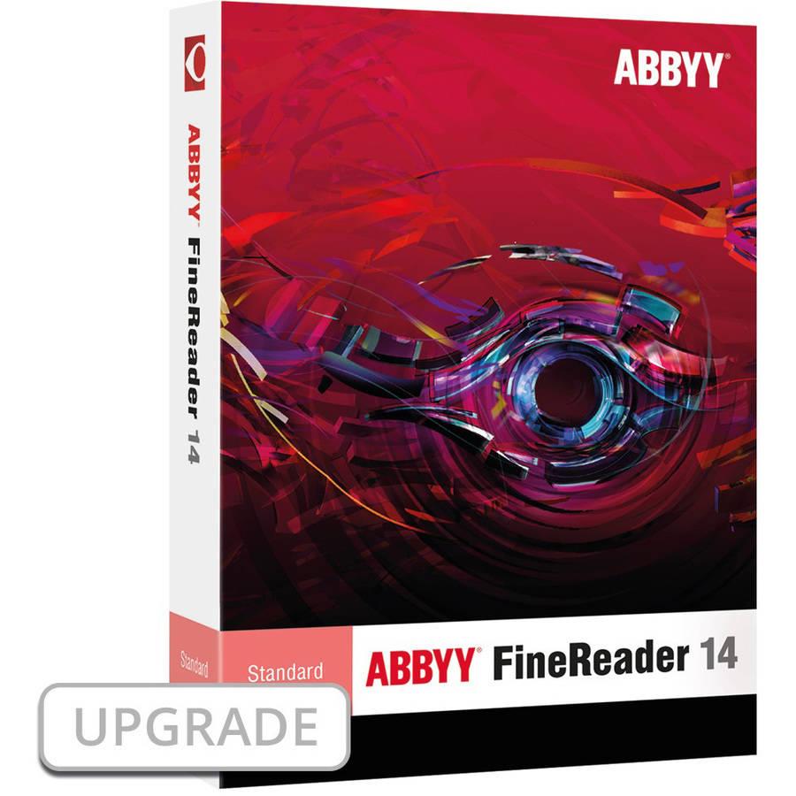 ABBYY FRSUW14E ABBYY FineReader 14 Standard Upgrade ESD (Digital Code)