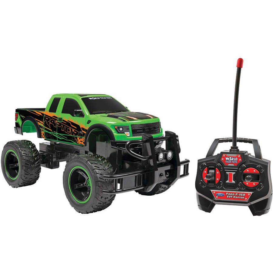 World Tech Toys 35993 114-Scale Licensed Ford RC Truck, Ford F-150 SVT Raptor