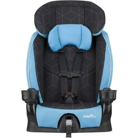 evenflo advanced harness booster seat glacier ice. Black Bedroom Furniture Sets. Home Design Ideas
