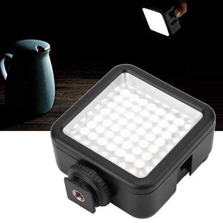 Sonew W49 Mini Portable Dimmable Led Video Light Panel On Camera Fill Light Led Video Light Panel Led Video Light Walmart Canada