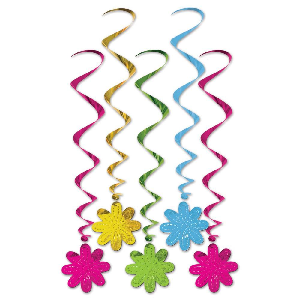 (30ct) Flower Whirls Party Decoration