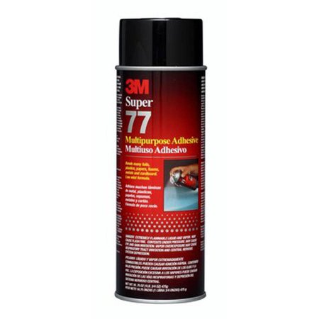 3m Structural Adhesive (3M 77-10 7 Oz Super 77 Spray Adhesive)