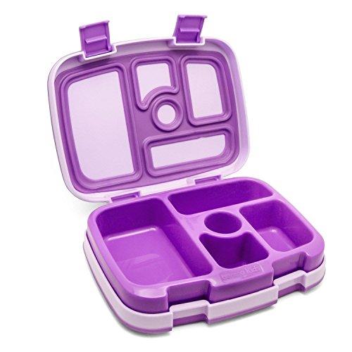 Bentgo Kids' Leakproof Lunch Box - Purple