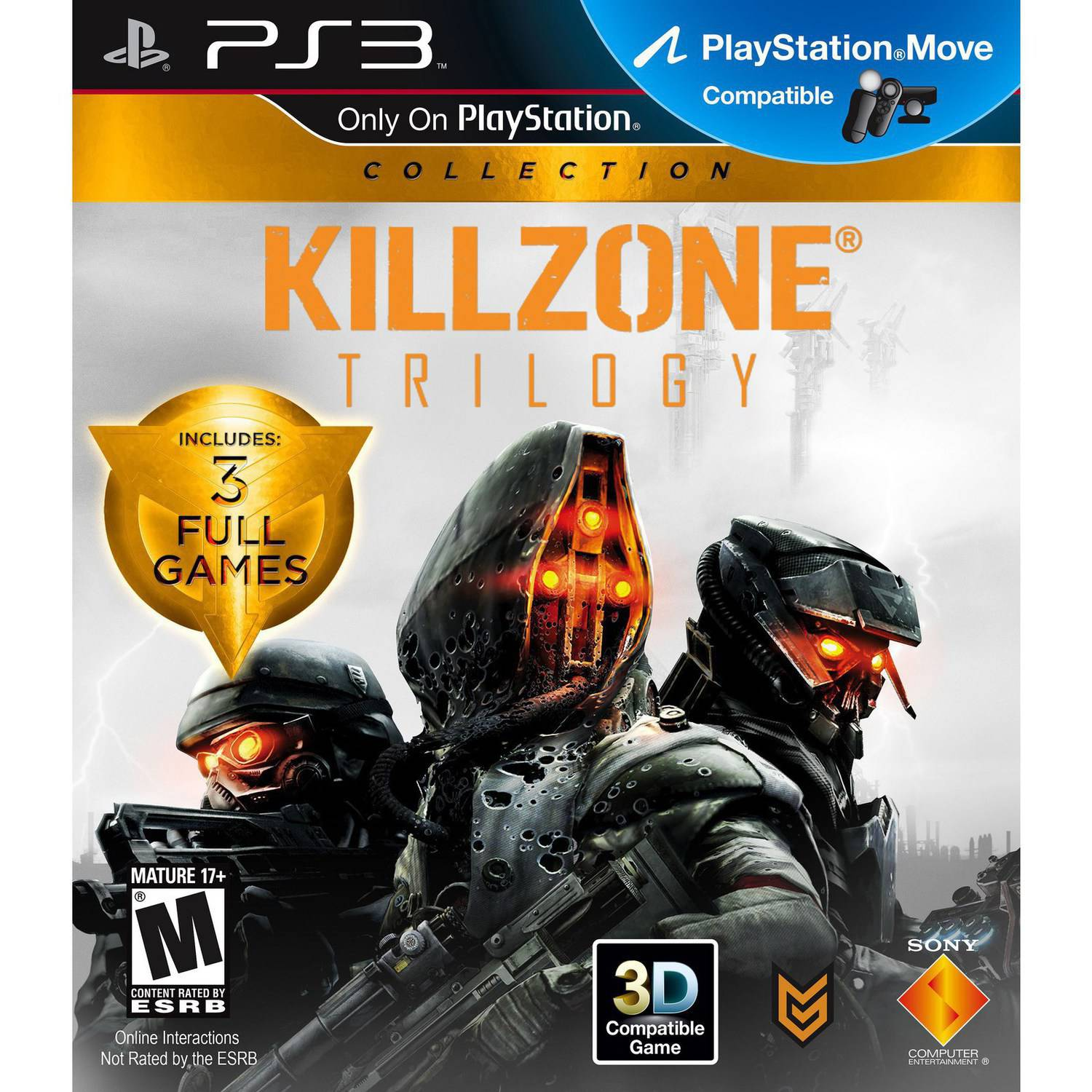PS3 Killzone Trilogy Collection - 2 Disc Trilogy Collection