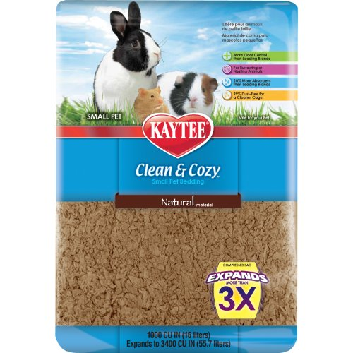 Kaytee Clean and Cozy Small Animal Bedding Multi-Colored