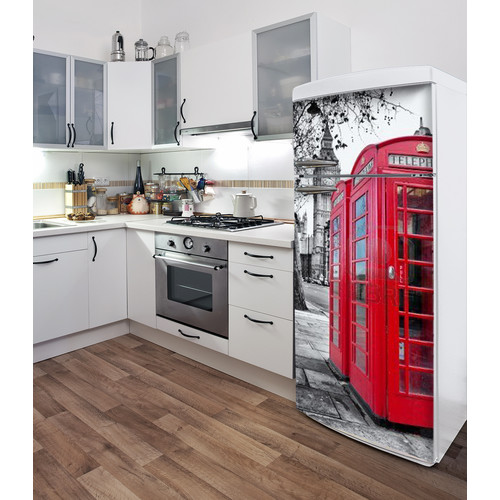 ADZif Domo London (Fridge) Wall Decal