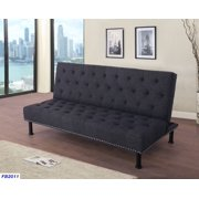 AYCP Furniture_ 3-Seat Sofa/Couch and Full-Size Convertible Futon ...
