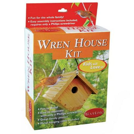 Woodlink Audubon Wren House Building Kit