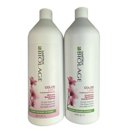 Biolage Shampoo And Conditioner (Matrix Biolage Colorlast Duo 1 Liter )
