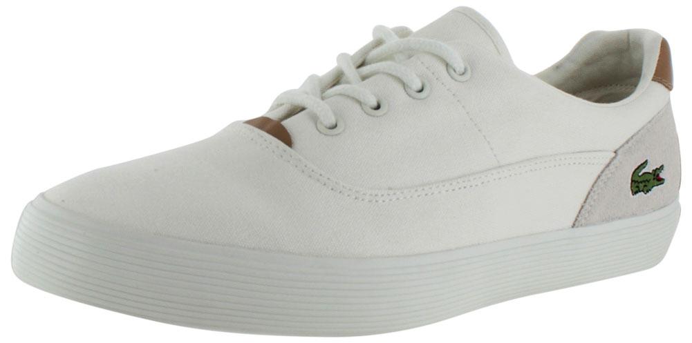 03659e673aa2 lacoste - lacoste jouer men s lace up canvas sneakers shoes - Walmart.com