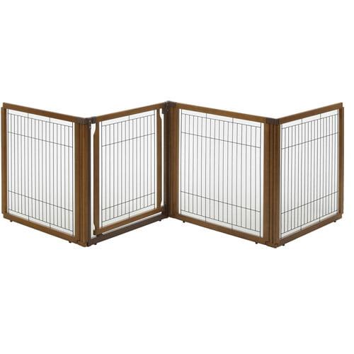 Richell Convertible Elite 4-Panel Pet Gate