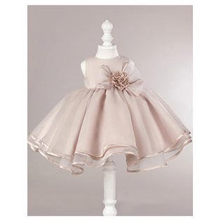 Kids Girls Big Bow Cute Wedding Party Dress