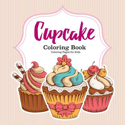 Cupcake Coloring Book - Halloween Cupcake Coloring Pages
