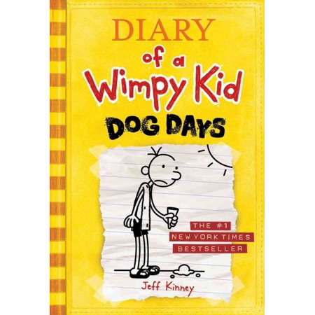 Diary Of A Wimpy Kid  Dog Days  Book 4   Hardcover