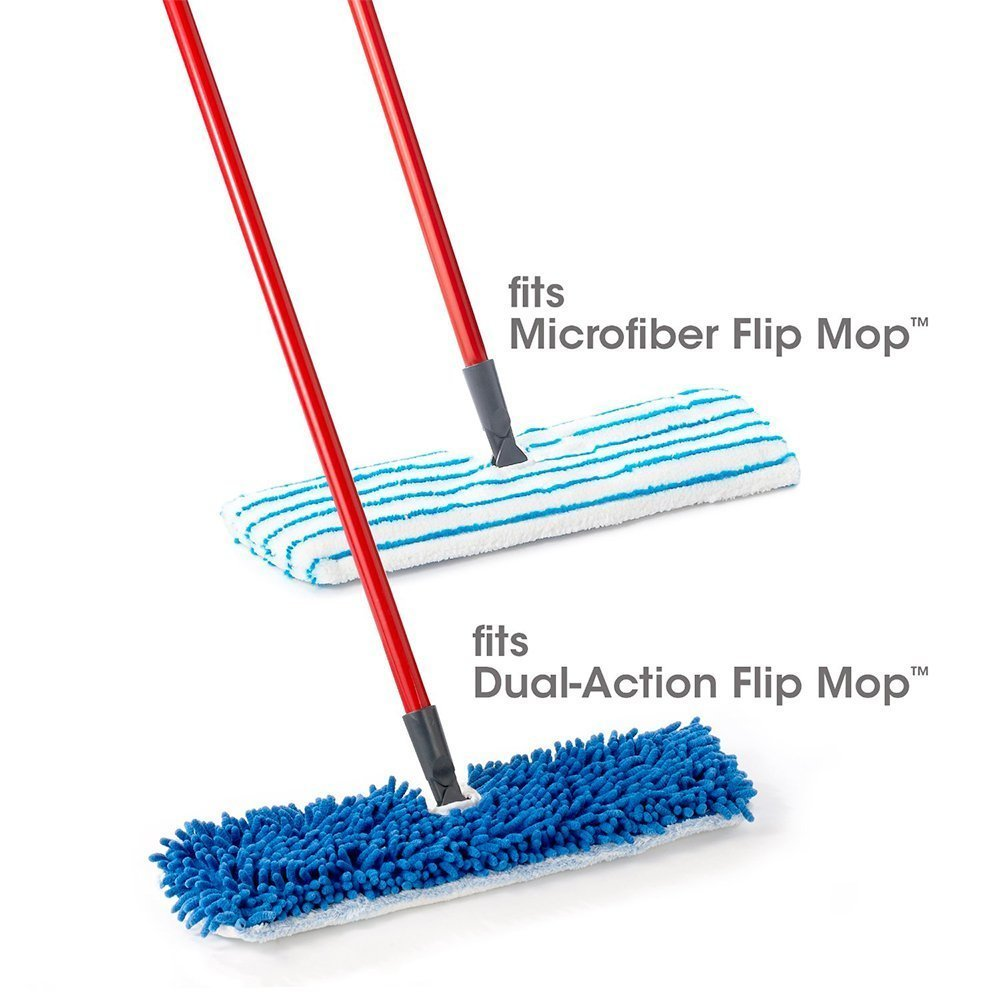 3X Flat Mop Pads Heads Microfiber Refill Wet Dry Cleaning Washable Replacement