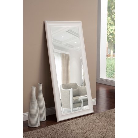 Full Length Leaner Mirror White 65