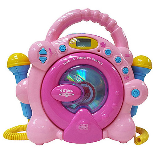 Little Virtuoso Sing-Along CD Player, Red or Pink