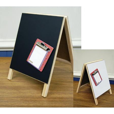 "Hampton Art 8"" x 12"" Magnetic Dry Erase Chalkboard Easel, 1 Each"