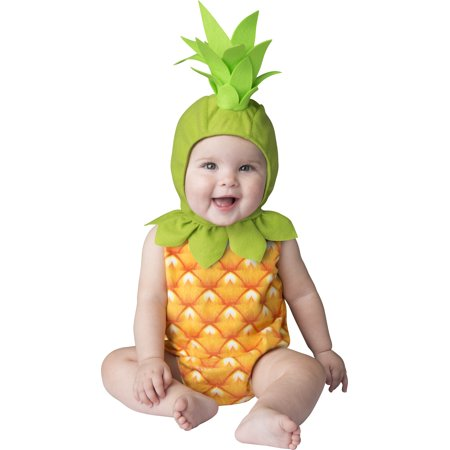 Halloween Infant/toddler - Pineapple 2T By Fun World (Fun Halloween Snacks For Toddlers)